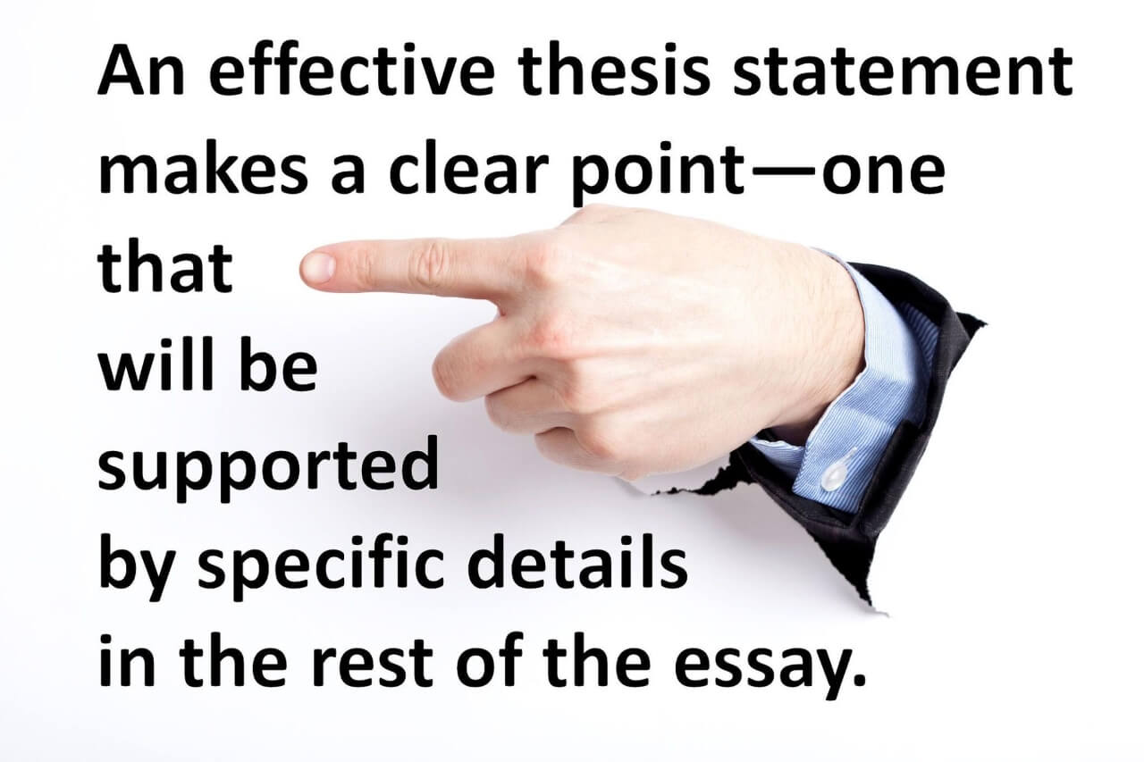 Start with the thesis statement outline before working on the rest of the paper.