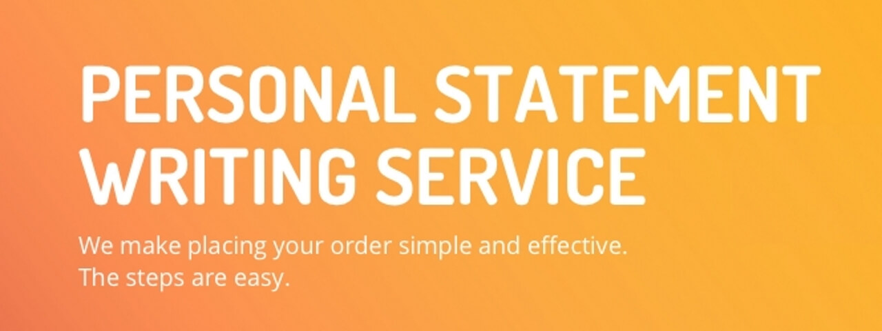 Ordering personal statement writing service: five steps